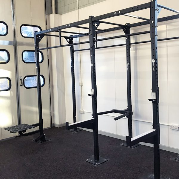 1 Station Squat Rig + Extension – Wall Mounted-2435