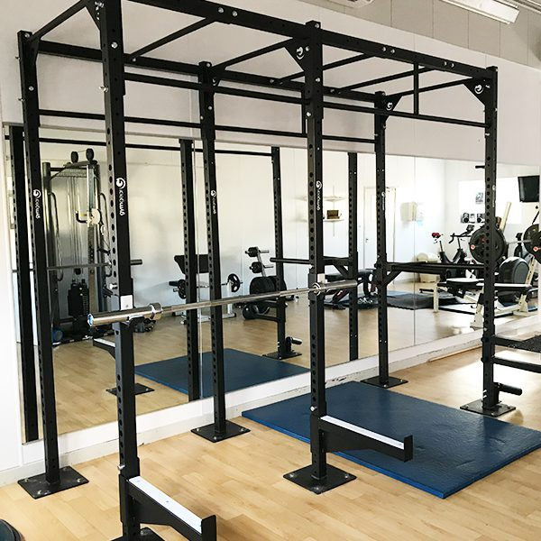 1 Station Squat Rig + Extension – Wall Mounted-2434